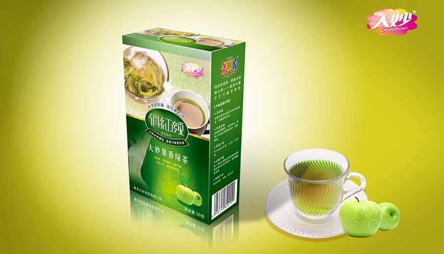 青岛大妙绿茶